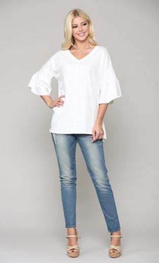 JOH Kristina Top White