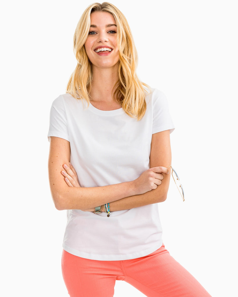 Southern Tide Sydney Tee Classic White