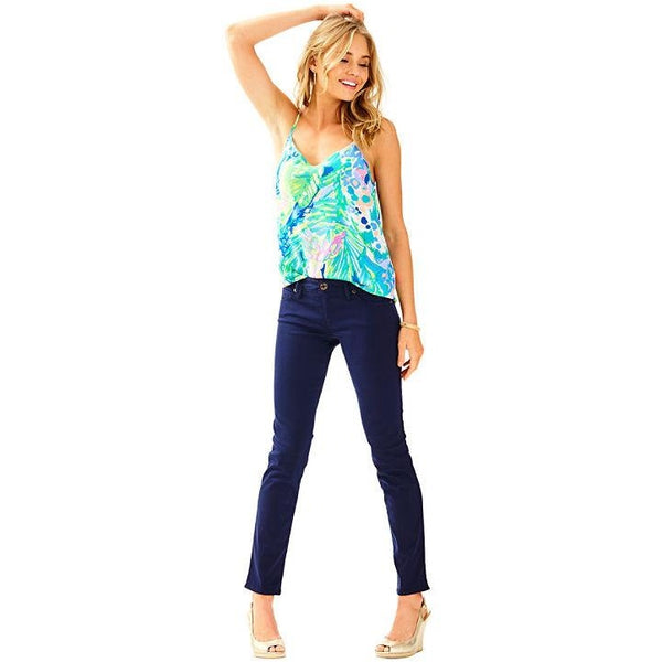 Lilly Pulitzer Worth Skinny Midnight Navy