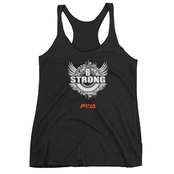 B Strong Women's tank top - Power Words Apparel