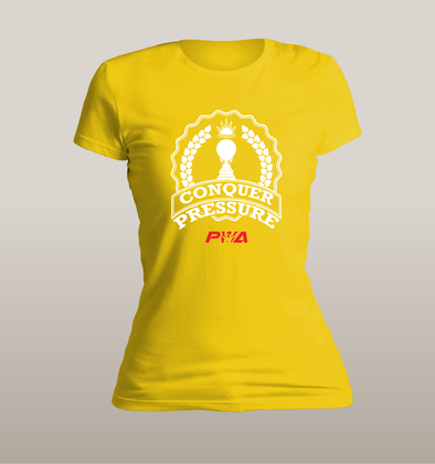 Conquer Pressure Women's - Power Words Apparel
