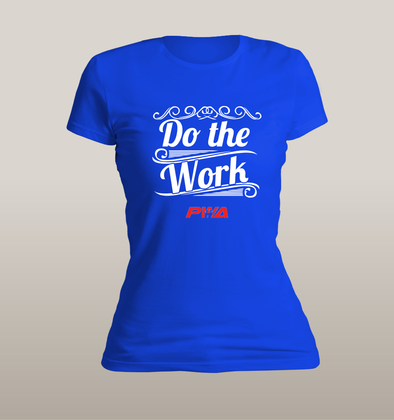 Do the Work Women's - Power Words Apparel