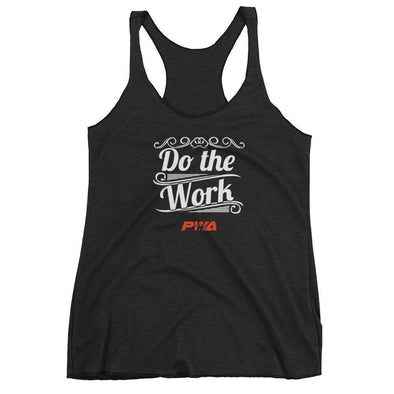 Do the work Women's tank top - Power Words Apparel