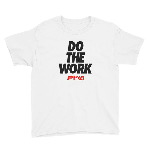 Do the work Youth Short Sleeve T-Shirt - Power Words Apparel