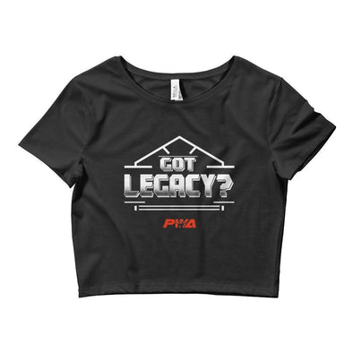 Got Legacy Crop Tee - Power Words Apparel