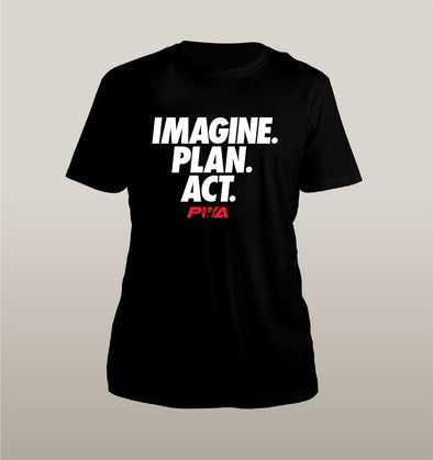 Imagine Plan Act Unisex - Power Words Apparel