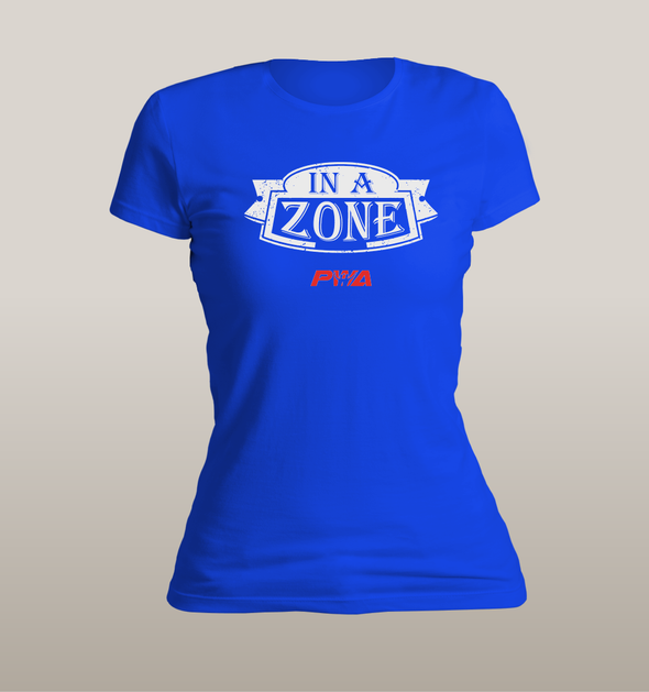 In a Zone Women's - Power Words Apparel