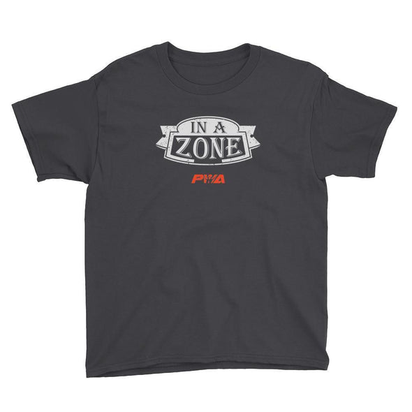 In a zone - Youth Short Sleeve T-Shirt - Power Words Apparel