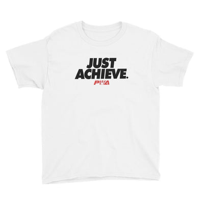 Just Acheive Youth Short Sleeve T-Shirt - Power Words Apparel