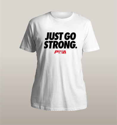 Just Got Strong Unisex - Power Words Apparel