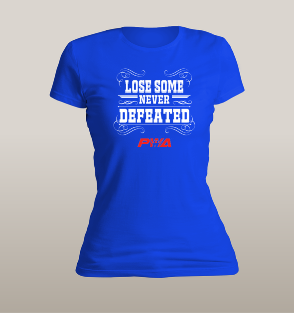 Lose some - Never defeated Women's - Power Words Apparel