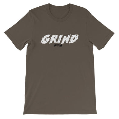 Grind Short-Sleeve Unisex T-Shirt - Power Words Apparel
