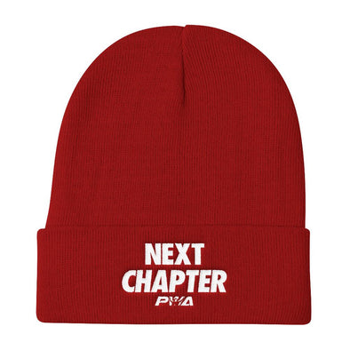Next Chapter Knit Beanie - Power Words Apparel