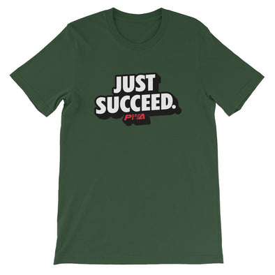 Just Succeed Short-Sleeve Unisex T-Shirt - Power Words Apparel