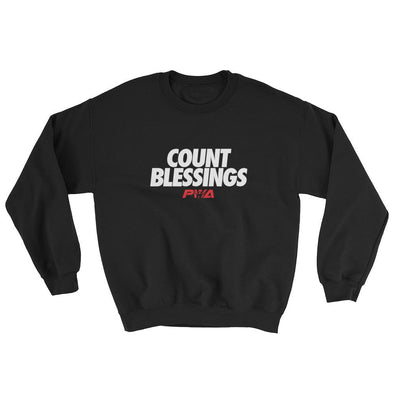 Count Blessings Sweatshirt - Power Words Apparel