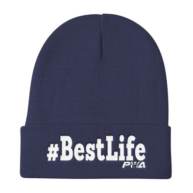 #BestLife Knit Beanie - Power Words Apparel