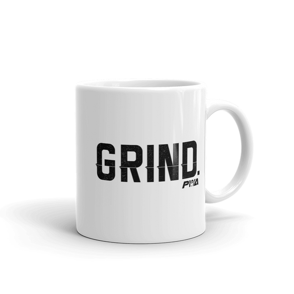 Grind Mug - Power Words Apparel