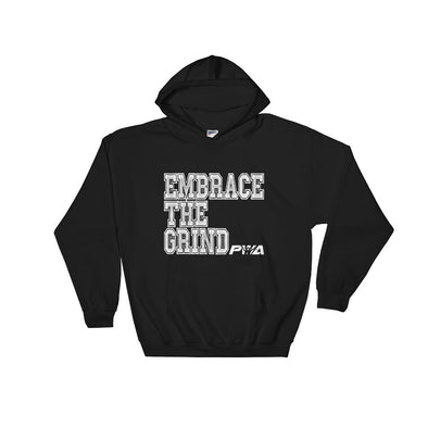 Embrace the Grind Hooded Sweatshirt - Power Words Apparel