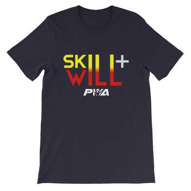Skill + Will Short-Sleeve Unisex T-Shirt - Power Words Apparel