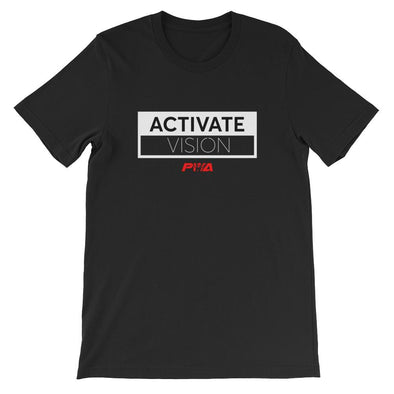 Activate Vision Short-Sleeve Unisex T-Shirt - Power Words Apparel
