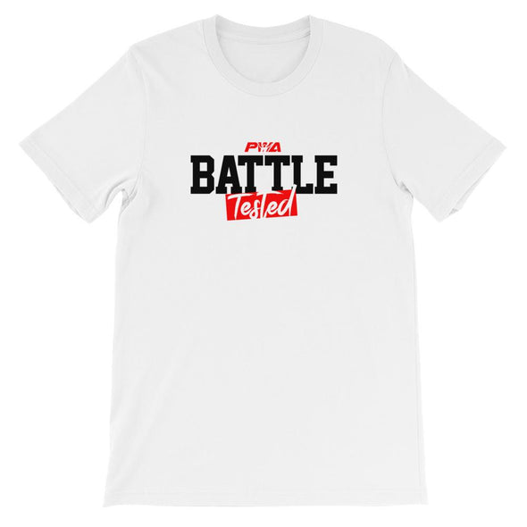 Battle Tested Short-Sleeve Unisex T-Shirt - Power Words Apparel