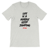 Life is a hurdle Women's - Power Words Apparel