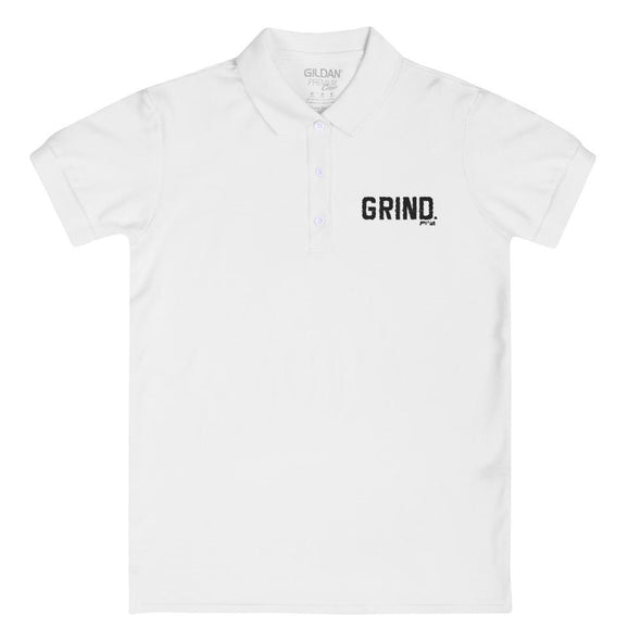 Grind Women's Polo Shirt - Power Words Apparel