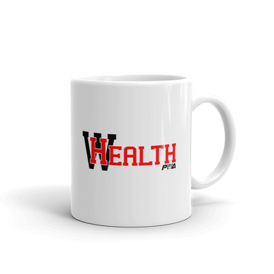 Health Wealth Mug - Power Words Apparel