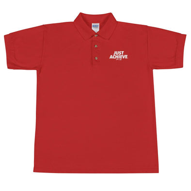 Just Achieve Men's Polo Shirt - Power Words Apparel