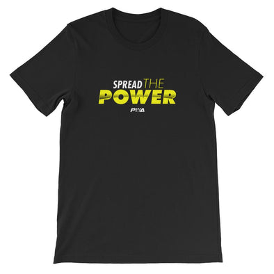 Spread the Power Short-Sleeve Unisex T-Shirt - Power Words Apparel
