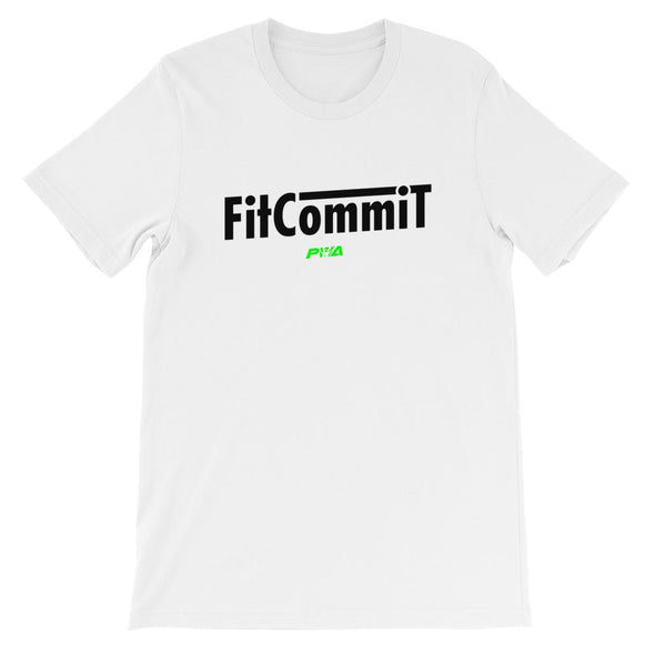Fit Commit Short-Sleeve Unisex T-Shirt - Power Words Apparel