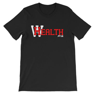 HealthWealth Short-Sleeve Unisex T-Shirt - Power Words Apparel