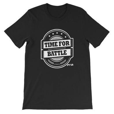Time For Battle Short-Sleeve Unisex T-Shirt - Power Words Apparel