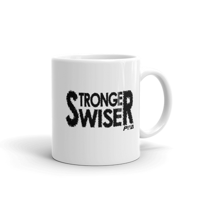 Stronger, Wiser Mug - Power Words Apparel