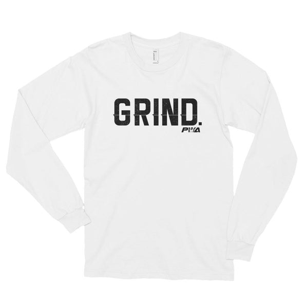 GRIND Long sleeve t-shirt (unisex) - Power Words Apparel