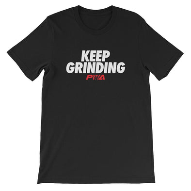 Keep Grinding Short-Sleeve Unisex T-Shirt - Power Words Apparel