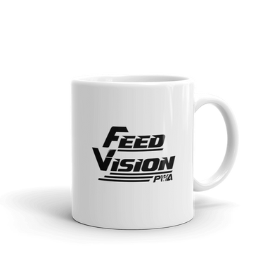 Feed Vision Mug - Power Words Apparel