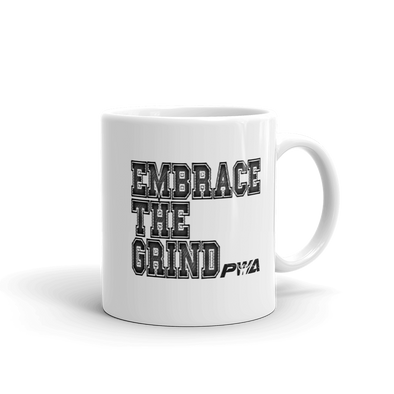 Embrace the Grind Mug - Power Words Apparel