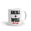 Skill + Will Mug - Power Words Apparel
