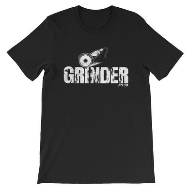 Grinder Short-Sleeve Unisex T-Shirt - Power Words Apparel