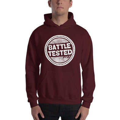 Battle Tested Hooded Sweatshirt - Power Words Apparel