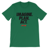 Imagine, Plan, Act Women's - Power Words Apparel