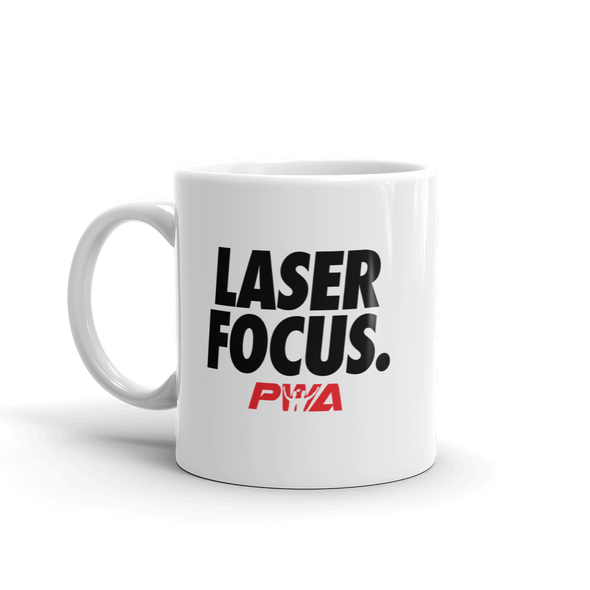 Laser Focus Mug - Power Words Apparel