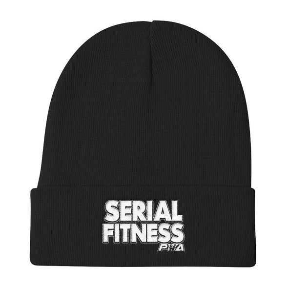 Serial Fitness Knit Beanie - Power Words Apparel