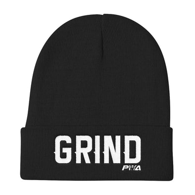 GRIND Knit Beanie - Power Words Apparel
