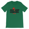 Just keep Jumping Women's - Power Words Apparel