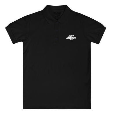 Just Achieve Women's Polo Shirt - Power Words Apparel