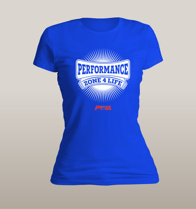 Performance Zone 4 Life Women's - Power Words Apparel