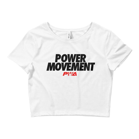 Power Movement Crop Tee - Power Words Apparel