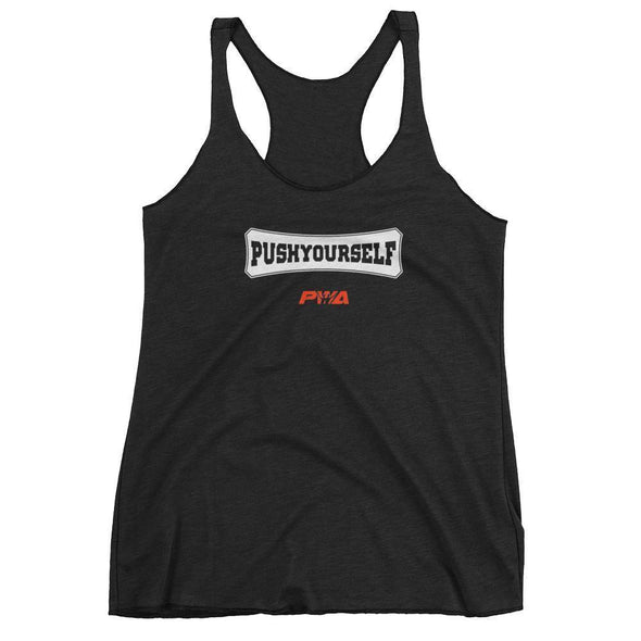 Push Yourself Women's tank top - Power Words Apparel